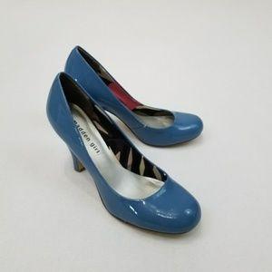 Madden Girl blue heels 8.5